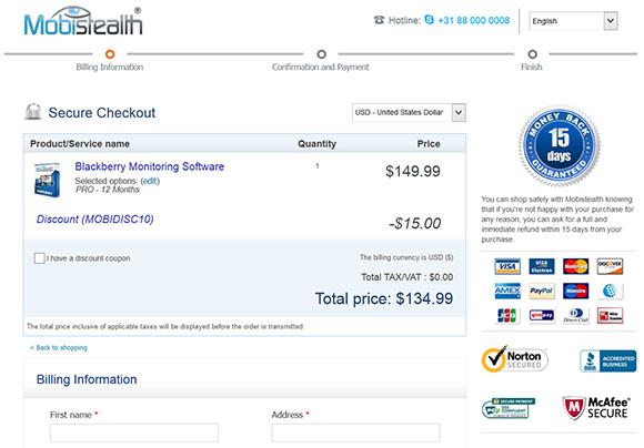 Mobistealth coupon code