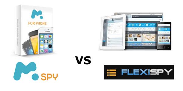 mSpy vs FlexiSPY comparison